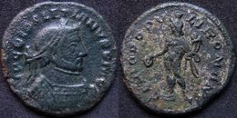 Roman Empire - Silvered AE Follis Of Diocletian (284 - 305 AD), GENIO POPVLI ROMANI - 6. La Tétrarchie (284 à 307)