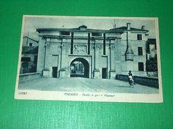 Cartolina Treviso - Ponte E Porta Cavour 1930 - Treviso