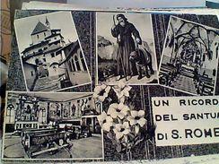 RICORDO SANTUARIO SAN ROMEDIO  VEDUTE  VB1962 TAX  GF15459 - Trento