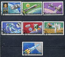 MANAMA 1970 Mi # 244 B - 250 B Soyuz And Apollo Space CTO - Manama