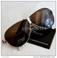 S.T. Dupont Occhiali Da Sole Titanio E Lacca - ST Dupont Sunglasses Titanium And Lacquer - Never Used - Occhiali Da Sole