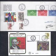 9.7.86 MARIO SOARES PRESIDENT SCHUMAN LUBBERS LA HAYE HOWE UK GB PORTUGAL  CONSEIL DE L´EUROPE EUROPA PARLAMENT EUROPA - 1910-... République