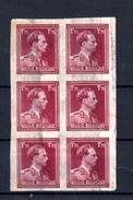 1950  Léopold III, 6 X  832 Non Dentelé (2 Petits Défauts), (tirage 300 Ex), - Belgien