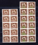1950  Fleurs, 22x  835 Non Dentelé, (10 Sans Couleur Verte) (tirage 200 Ex), - Belgique