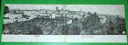 Cartolina Doppia Chieti - Lato Orientale - Panorama 1910 Ca - Chieti