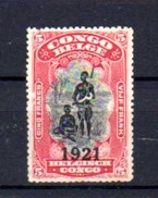 1921   Indigène, 93*, - 1894-1923 Mols: Oblitérés