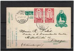 TURQUIE  EP CP CIRCULEE - 1858-1921 Empire Ottoman