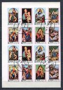MANAMA 1970 Mi # A 368 B - H 386 B Christmas Mothers Day Raphael 2 Sets CTO - Manama