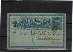 URUGUAY EP CP  MONTEVIDEO / DOMODOSSOLA SEPTEMBRE 1897 TAXEE EN ITALIE - Uruguay