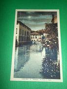 Cartolina Treviso - Il Botteniga Da Ponte S. Agata 1930 - Treviso