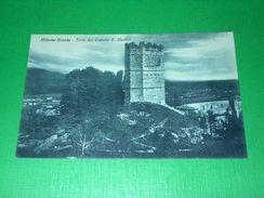 Cartolina Vittorio Veneto ( Treviso ) - Torre Del Castello S. Martino 1920 Ca - Treviso
