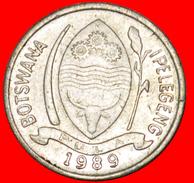 § BIRD: BOTSWANA ★ 1 THEBE 1989! LOW START★ NO RESERVE! - Botswana