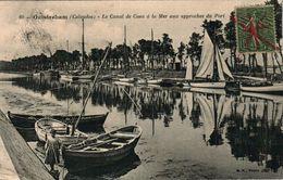 OUISTREHAM - Le Canal De Caen à La Mer Aux Approches Du Port - Ouistreham