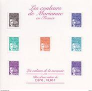 France Bloc N° 41** Les Couleurs De Marianne En Francs 2001 Bloc Neuf - Sheetlets