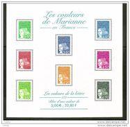 France Bloc Feuillet Neuf Luxe ** 2001 N° 42 Les Couleurs De Marianne De Luquet - Sheetlets