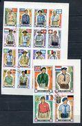 AJMAN 1971 Mi # 904 B - 923 B SCOUTS Set Of 20 Stamps CTO - Ajman