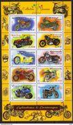 "BLOC TIMBRES Y&T 51 - 2002 "" COLLECTION JEUNESSE - MOTOS ""Cylindrées & Caénages"" Neuf - Sheetlets"