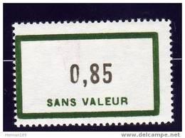 FRANCE FICTIF N° F151 ** Timbre Neuf Gomme D´origine Sans Trace De Charnière - TB - Phantom
