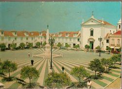 Portugal & Circulated Postal, Praça Marques De Pombal, Vila Real De Santo Antonio, Cascais 1970 (320) - Monuments