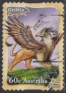 Australia 2011 Mythical Creations 60c Type 4 Self Adhesive Good/fine Used [34/29164/ND] - Oblitérés