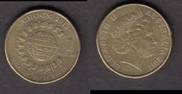 ##17, Australie, Australia, 2011, 1$, CHOGM, Perth - Monnaie Décimale (1966-...)