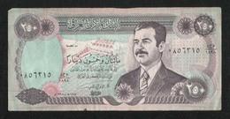 IRAQ Saddam Hussein Old 250 Dinars Banknote - Iraq