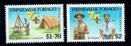Scouts  75th Ann.  UM - Trinidad & Tobago (...-1961)