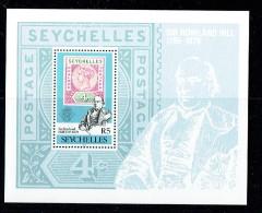1979  Rowland Hill Death Centenary Souvenir Sheet  UM ** - Seychelles (1976-...)