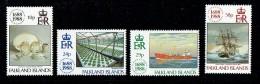 1988  LLoyd's Of London Centenary  Complete Set UM** - Falklandinseln