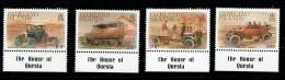 1988  Classic Cars    Complete Set UM** - Falkland Islands