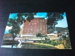 STORIA POSTALE ANNULLO ROSSO  COLOMBIA BOGOTA  HOTEL TEQUENDAMA - Colombia