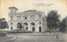Cambodge - Pnom-Penh - Hôtel Des Douanes Et Régies - Collection Dieulefils - Carte N° 1602 Non Circulée - Cambodia