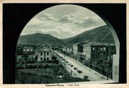 Massa - Viale Perù - Viaggiata 1948 - Cm. 10x15  (2 Foto) - Massa