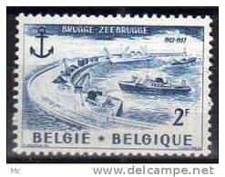 Belgique N° 1019 Luxe ** - Bélgica