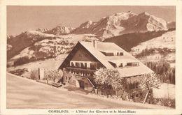 COMBLOUX HOTEL DES GLACIERS ET LE MONT BLANC - Combloux