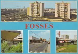 95----FOSSES--Le Centre Commercial LE PLATEAU Et La Rue Principale--multivues--voir 2 Scans - Fosses