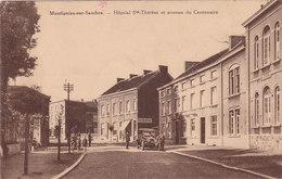 Montignies Sur Sambre, Hôpital Ste Thérèse Et Avenue Du Centenaire, 2 Scans - Belgique