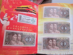 1980, 10 Pieces Of 10 Cents Banknote In Folder, UNC, See Description - China