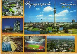 Olympia Park - Munchen Germany.Stadium.football Stadion - Stadiums