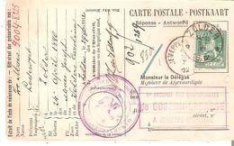 TP. N° 110 DEPÔT-RELAIS De ZOLDER Du 29/11/12 S/Carte Caisse De Retraite. TB. - Postmarks With Stars