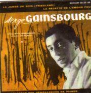 Magnets Magnet 45 Tours Serge Gainsbourg La Jambe De Bois - Personnages