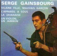 Magnets Magnet 45 Tours Serge Gainsbourg Vilaine Fille Mauvais Garcon - Personnages