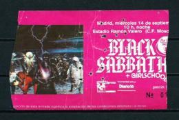 BLACK SABBATH (año 1983) - Entradas A Conciertos
