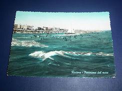 Cartolina Riccione - Panorama Dal Mare 1959 - Rimini