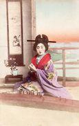 ASIE JAPON JEUNE JAPONAISE GHEISA CARTE PRECURSEUR - Altri