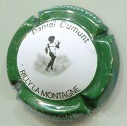 CAPSULE-CHAMPAGNE DUMONT Daniel N°04b Contour Vert Foncé - Champagnerdeckel
