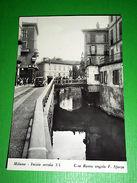 Cartolina Milano All' Inizio Del Secolo XX - Corso Roma Angolo F. Sforza 1960 Ca - Milano