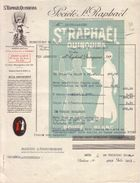 PARIS - DEPÔT DE SETE , CETTE , HERAULT - APERITIF - ST RAPHAËL QUINQUINA - SOCIETE SAINT RAPHAËL - LETTRE - 1942 - France