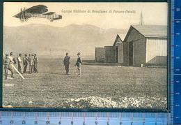393P/3   CPA CARTOLINA POSTALE ANNI 1915-18  AVIANO PORDENONE  CAMPO D´AVIAZIONE MILITARE - Pordenone