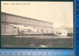 393P/4   CPA CARTOLINA POSTALE ANNI 1915-18  CAMPO SCUOLA MILITARE D'AVIAZIONE AVIANO PORDENONE - Pordenone